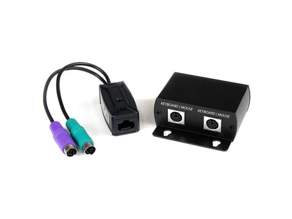 StarTech.com PS/2 Tastatur und Maus Extender über Cat5 - Tastatur- / Maus-Erweiterung - bis zu 100 m