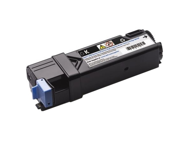 Dell - High Capacity - Schwarz - Original - Tonerpatrone - für Color Laser Printer 2150cdn, 2150cn; Multifunction Color Laser Printer 2155cdn, 2155cn