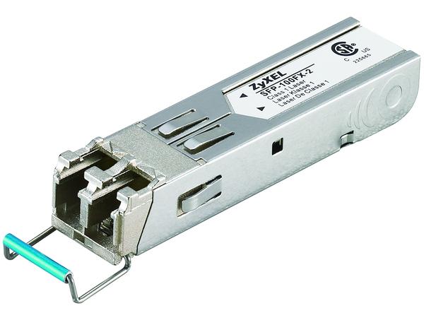ZyXEL SFP-100FX-2 - SFP (Mini-GBIC)-Transceiver-Modul - Fast Ethernet - 100Base-FX - LC - bis zu 2 km