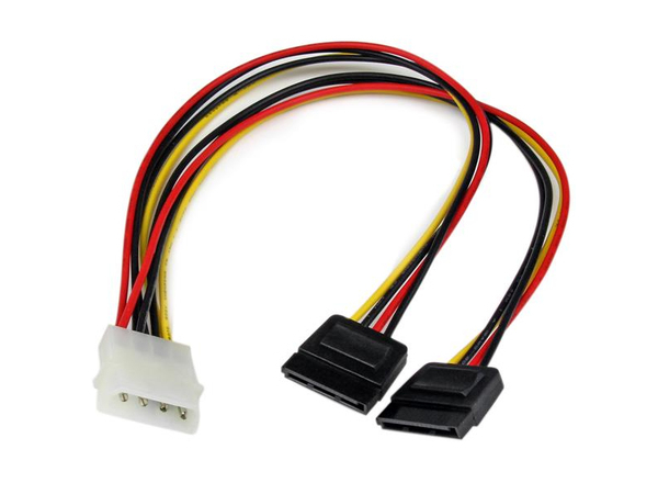 12LP4 TO 2X SATA POWER YCABLE