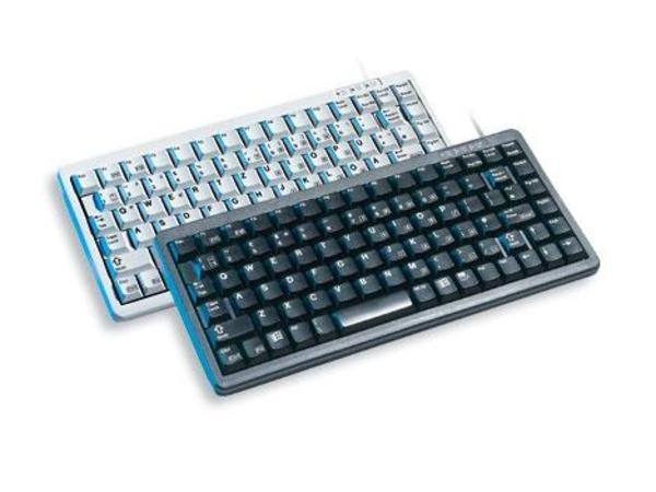 CHERRY Compact-Keyboard G84-4100 - Tastatur - USB - Schweiz