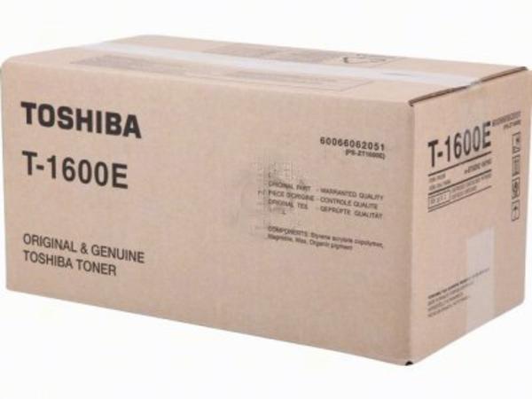 Toshiba T1600 - 2er-Pack - Schwarz - Original - Tonerpatrone - für e-STUDIO 16, 160, 16s