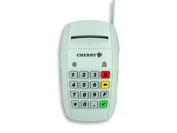CHERRY SmartTerminal ST-2000U - SMART-Kartenleser - USB - Hellgrau