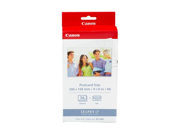 Canon KP-36IP - Druckpatrone / Papiersatz - für SELPHY CP1000, CP1200, CP330, CP530, CP770, CP780, CP790, CP800, CP820, CP900, CP910