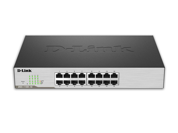 D-Link EasySmart Switch DGS-1100-16 - Switch - verwaltet - 16 x 10/100/1000 - Desktop