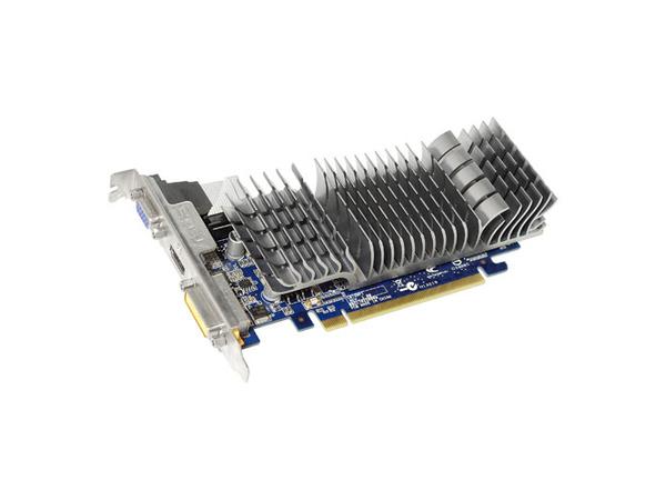 ASUS EN210 SILENT/DI/1GD3/V2(LP) - Grafikkarten - GF 210 - 1 GB DDR3 - PCIe 2.0 x16 - DVI, D-Sub, HDMI