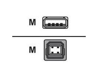 Brother - USB-Kabel - USB (M) bis USB Typ B, 4-polig (M) - 1.8 m ( USB/USB 2.0 )