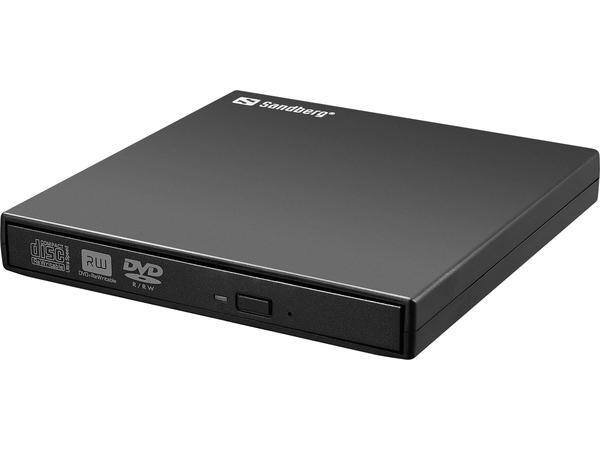 Sandberg USB Mini DVD Burner - Laufwerk - DVD-RW - 8x - USB 2.0 - extern