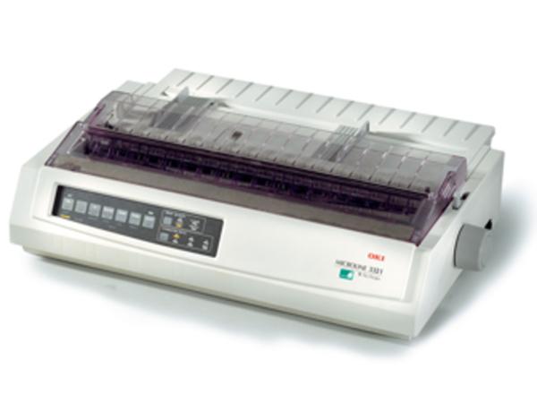 OKI Microline 3321eco - Drucker - monochrom - Punktmatrix - A3 - 240 x 216 dpi