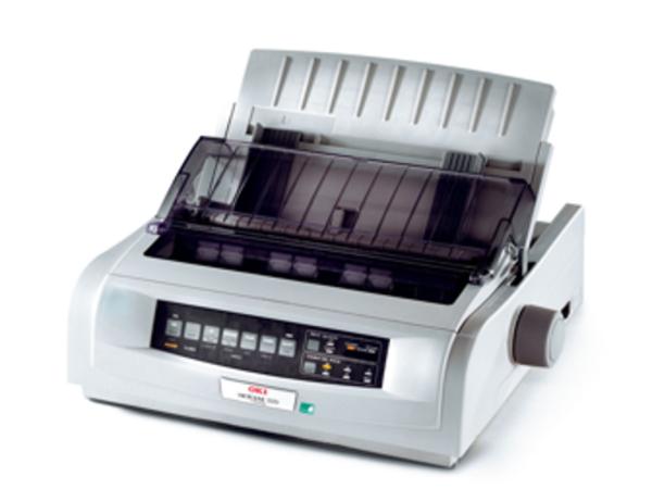 OKI Microline 5521eco - Drucker - monochrom - Punktmatrix - A3 - 240 x 216 dpi