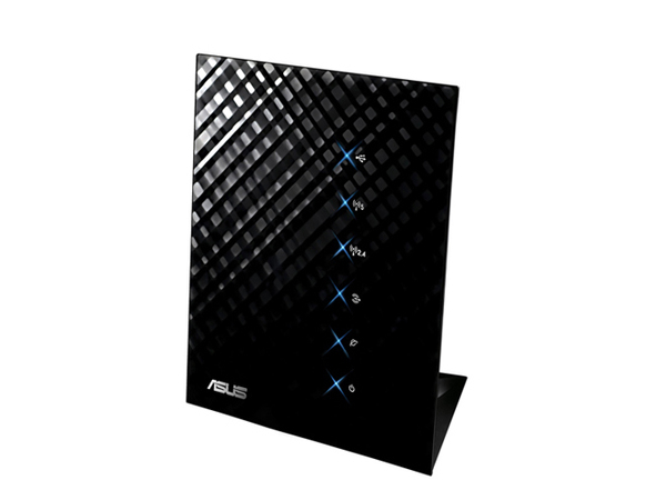 ASUS RT-N56U - Wireless Router - 4-Port-Switch - GigE - 802.11a/b/g/n - Dual-Band