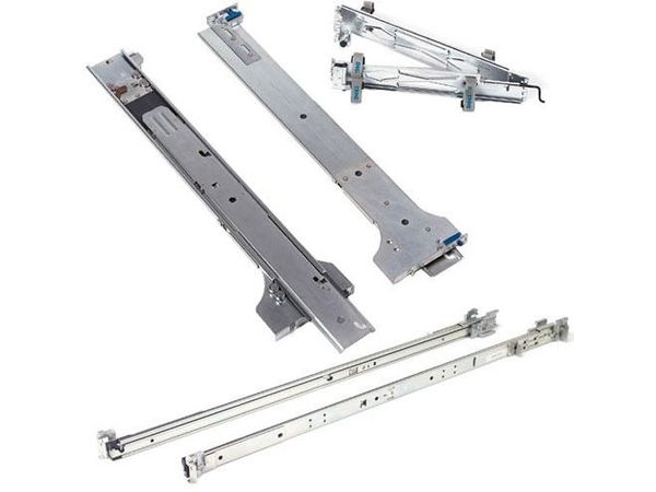 Dell ReadyRails static Rail Kit - Rack-Schienen-Kit - 1U - für PowerEdge R210, R210 II, R310, R410, R415; PowerVault NX300, NX3500