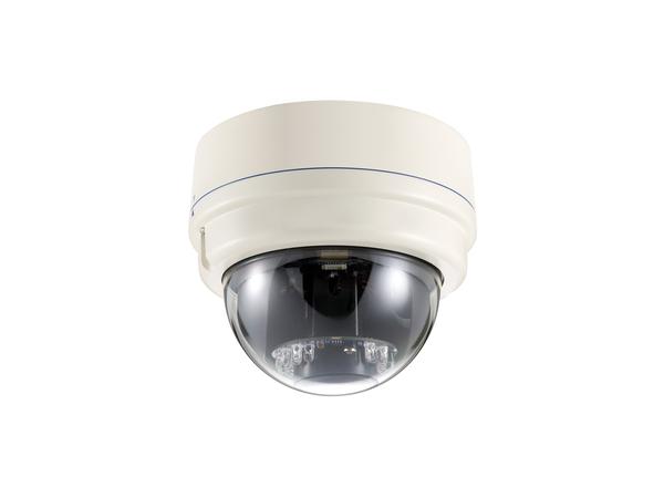 LevelOne FCS-3081 - Netzwerk-Überwachungskamera - Kuppel - Außenbereich - vandalismusresistent/wasserfest - Farbe (Tag&Nacht)
