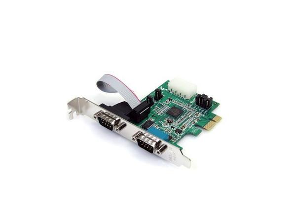 Fujitsu - Serieller Adapter - PCIe - Seriell - 2 Anschlüsse - für Celsius R940, W530; ESPRIMO C910, E400, E420, E720, E920, P420, P710, P720, P910, P920