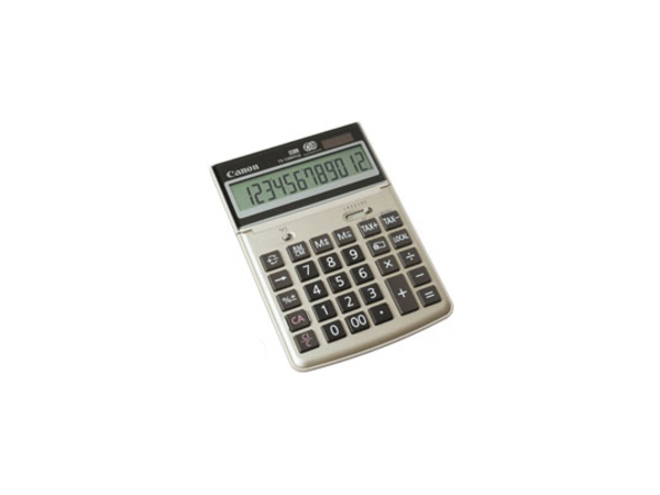 Canon TS-1200TCG - Desktop-Taschenrechner - 12 Stellen - Solarpanel, Batterie - Champagnergold