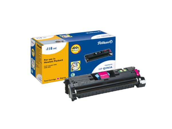 Pelikan 1118 - Magenta - Tonerpatrone (entspricht: HP Q3963A ) - für Canon Laser Shot LBP-5200; LaserBase MF8180; LBP-5200; HP Color LaserJet 2550, 2820, 2840