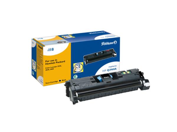 Pelikan 1118 - Schwarz - Tonerpatrone (entspricht: HP Q3960A ) - für Canon Laser Shot LBP-5200; LaserBase MF8180; LBP-5200; HP Color LaserJet 2550, 2820, 2840