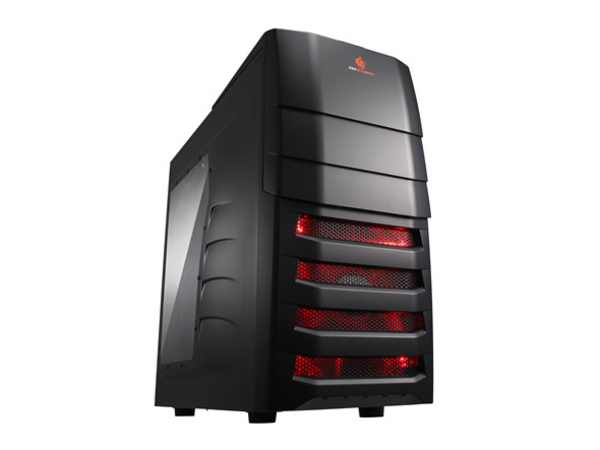 Cooler Master CM Storm Enforcer - Midi Tower - ATX - ohne Netzteil (ATX / PS/2) - Schwarz - USB/Audio