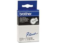 Brother - Schwarz - weiß - Rolle (1,2 cm) 1 Rolle(n) Etiketten - für P-Touch PT-15, PT-20, PT-6