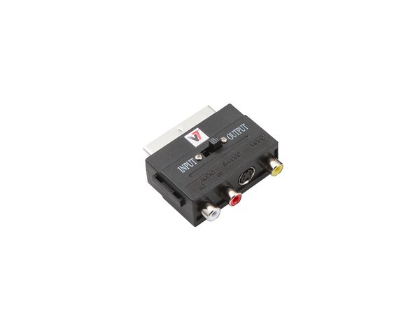 V7 - Video- / Audio-Adapter - RCA (W) bis SCART (M)