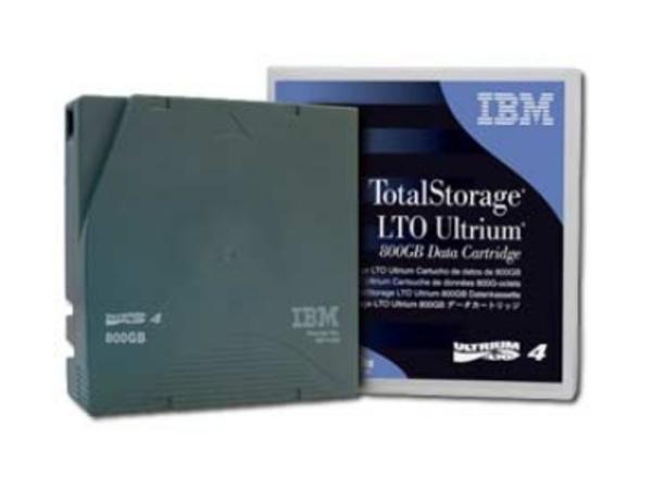 IBM - LTO Ultrium 4 - 800 GB / 1.6 TB - für System Storage 3584 Model D53, 3584 Model L53; System Storage TS3500 Tape Drive