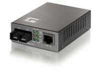 LevelOne Procon FVT-0103TXFC - Medienkonverter - Ethernet, Fast Ethernet - 10Base-T, 100Base-FX, 100Base-TX - RJ-45 / SC multi-mode