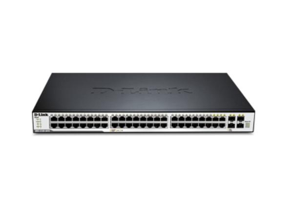 D-Link xStack DGS-3120-48TC - Switch - verwaltet - 44 x 10/100/1000 + 4 x Kombi-SFP - Desktop