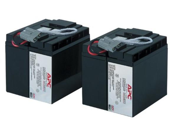 APC Replacement Battery Cartridge #11 - USV-Akku Bleisäure - Schwarz - für P/N: DLA2200J, SU2200I, SU3000I, SUA2200US, SUA3000RMXLT5U, SUA3000T, SUA3000US