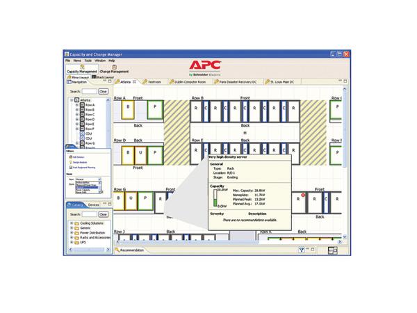 APC InfraStruXure Operations Floor Layout Creation - Technischer Support - Inspektion - Vor-Ort - 9x5 - für P/N: AP9480