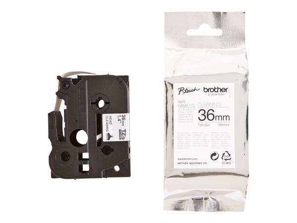 Brother TZeCL6 - Reinigungsband - Rolle (3,6 cm x 2,5 m) 1 Rolle(n) - für P-Touch PT-3600, PT-530, PT-9200DX, PT-9200PC, PT-9400, PT-9600, PT-9700PC, PT-9800PCN