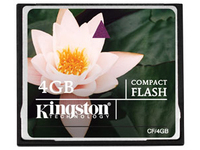 Kingston - Flash-Speicherkarte - 4 GB - CompactFlash
