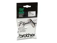 Brother MK231BZ - Schwarz auf Weiß - Rolle (1,2 cm x 8 m) 1 Rolle(n) Etikettenband - für P-Touch PT-55, PT-65, PT-75, PT-80, PT-85, PT-90, PT-BB4, PT-M95