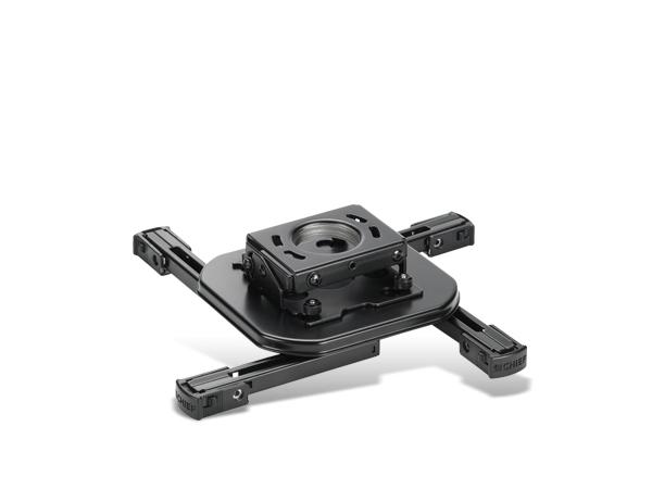 InFocus Universal Projector Ceiling Mount - Deckenhalterung für Projektor - Stahl - Black Wrinkle - für InFocus IN104, IN105, IN146, IN3914, IN3916, IN5110, IN5122, IN5124; ScreenPlay 86XX