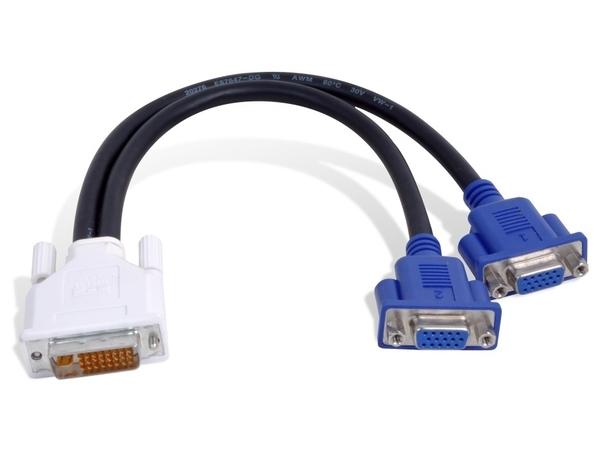 Matrox - VGA-Kabel - HD-15 (M) bis DVI-I (M)