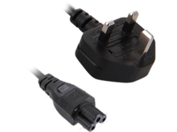 V7 - Stromkabel - IEC 60320 C5 bis BS 1363 (M) - 2 m - Großbritannien und Nordirland