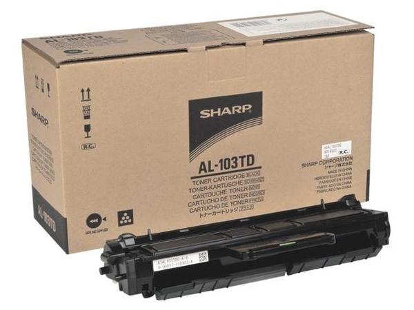 Sharp AL-103TD - Schwarz - Original - Tonerpatrone - für AL-1035