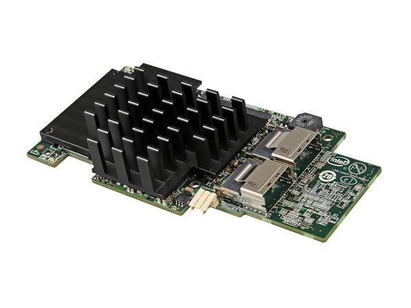 Intel Integrated RAID Module - Speichercontroller (RAID) - 4 Sender/Kanal - SATA 3Gb/s / SAS - 6 GBps - RAID 0, 1, 5, 6, 10, 50, 60
