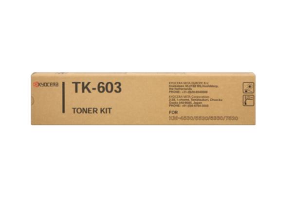 Kyocera TK 603 - Schwarz - Original - Tonerpatrone - für KM 4530, 5530, 6330, 7530