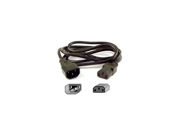 Eaton - Stromkabel - IEC 60320 C14 bis CEE 7/7 (W) - 10 A - 1.7 m