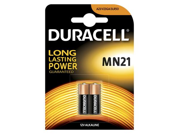 Duracell MN21, Alkali, Zylindrische, 12V, 7,4g (0.261 oz), MN21