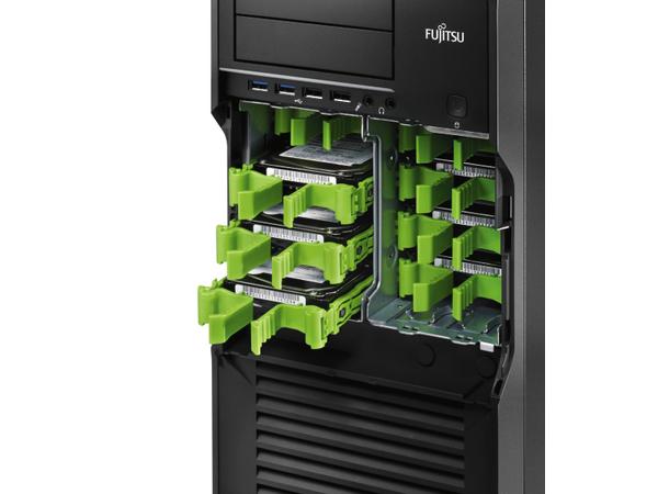 "Fujitsu - Laufwerkeinbau-Kit - Kapazität: 4 Festplattenlaufwerke (3,5""), 8 Festplattenlaufwerke (2,5"") - für Celsius M720, R920, R920 PREMIUM selection, R940 POWER, R970, R970B, R970Bpower, R970power"