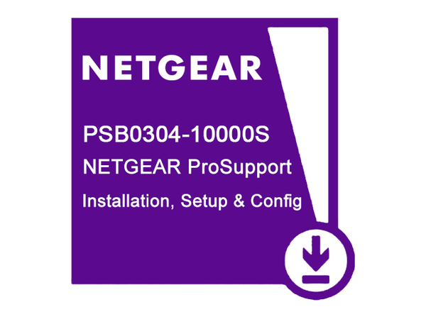NETGEAR ProSupport Professional Setup and Configuration - Installation / Konfiguration - für ProSAFE M6100-44G3-POE+; ReadyDATA 4U Expansion Chassis EDA4000, 5200