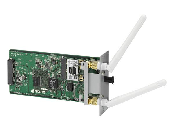 Kyocera IB-51 - Druckserver - 802.11b, 802.11g, 802.11n - für ECOSYS M2030dn PN/KL3, M3540, M6026, M8124, M8130, P6021, P6026, P6030, P7035, P8060