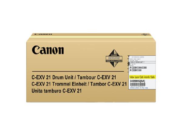 Canon C-EXV 21 - 1 - Gelb - Trommel-Kit - für imageRUNNER C2880, C3380; iRC2880, C3380; iRC 2380, 3380, 3580