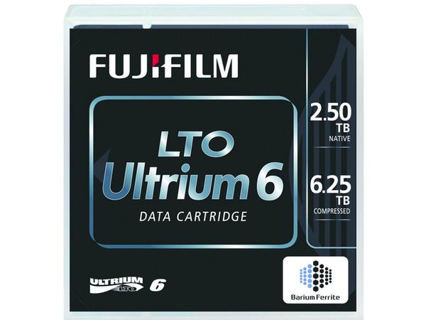 Fuji - 5 x LTO Ultrium 6 - 2.5 TB / 6.25 TB - etikettiert - für PRIMERGY RX2540 M2, RX600 S6, TX1320 M3, TX1330 M2, TX1330 M3, TX2550 M4, TX2560 M2