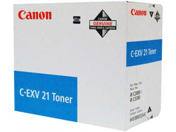Canon C-EXV 21 - 1 - Cyan - Trommel-Kit - für Canon iRC3580; imageRUNNER C2880, C3380; iRC2880, C3380; iRC 2380, 3380, 3580