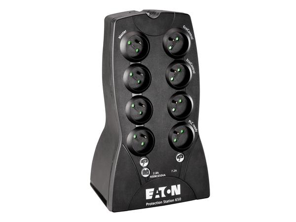 Eaton Protection Station 650 USB DIN, 650 VA, 400 W, 160 V, 284 V, 230 V, 230 V