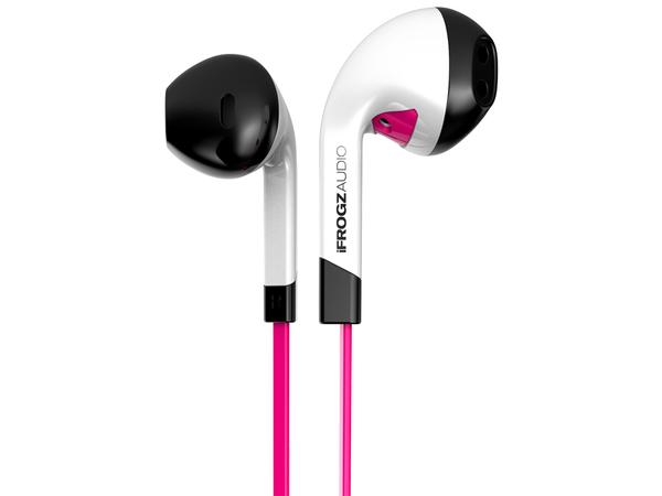 ifrogz InTone, Im Ohr, im Ohr, Verkabelt, 20 - 20 Hz, 1,25 m, Pink