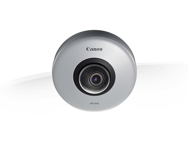 Canon VB-S31D, IP security camera, Innenraum, Auto, Manuell, Blendenautomatik AE, Kuppel, Weiß, Zimmerdecke