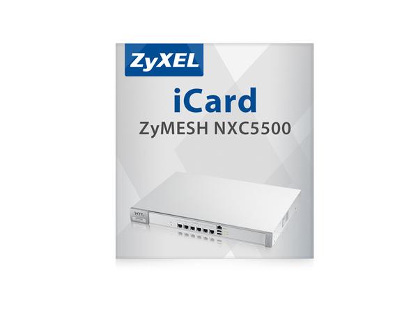 Zyxel E-iCard ZyMESH - Lizenz - für P/N: NXC5500-EU0101F